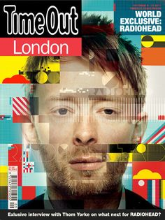 Crayonfire / Neil Stevens Illustration  If I Could...  Design the cover of Time Out Magazine