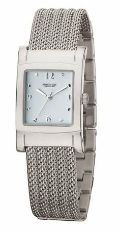 Kenneth Cole Women's KC4569 Reaction Silver-Tone Mesh Bracelet Watch Kenneth Cole REACTION. $64.99. Stainless-steel case; Glacier blue dial. Mineral crystal. Quality Japanese-Quartz movement