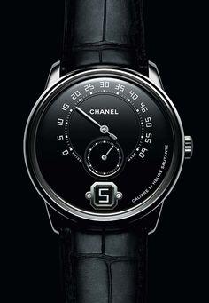La Cote des Montres   La montre Monsieur de Chanel et son Calibre 1, premier fee150abef04