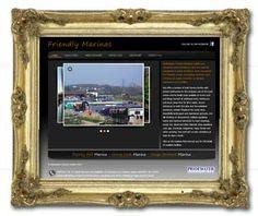 Brochure site for Canal Marinas. www.canalmarinas.com