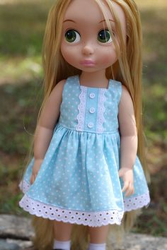 Disney Princess Animators 16 doll Clothes by moni2gurumi on Etsy
