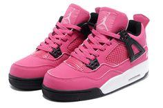 """Girl's / Ladies Air Jordan 4(IV) """"pink"""""""