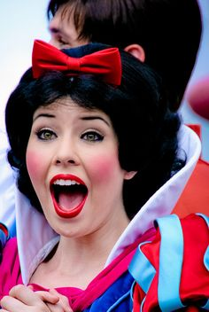 Snow White.  I saw this an I instantly saw you making this face... :D