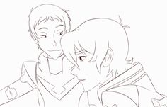 Read Stuff 37 Gif (Klance) from the story Voltron Trash ((Actualizando)) by s-saltycherrys (confused; Voltron Klance, Voltron Comics, Voltron Fanart, Form Voltron, Voltron Ships, Keith Kogane, Keith Lance, Klance Cute, Voltron Tumblr