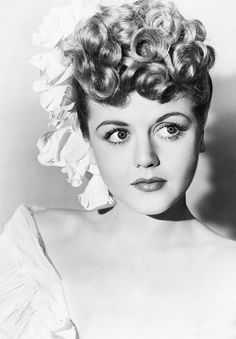 A young Angela Lansbury. Wow