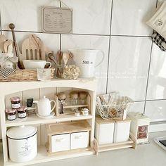Interior Exterior, Kitchen Interior, Kitchen Design, Cute Kitchen, Kitchen Dinning, Homey Kitchen, Korean Bedroom, Bedroom Minimalist, Dinner Room