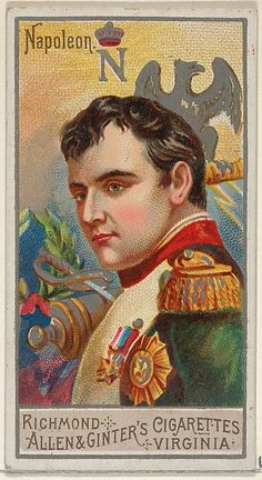 Napoleon Bonaparte, from the Great Generals series (N15) for Allen & Ginter Cigarettes Brands
