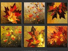 """Maple Dreams"" - Original Landscape Art by Lena Karpinsky, http://www.artbylena.com/original-painting/20363/maple-dreams.html"