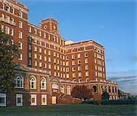 The Chamberlin Hotel ... Hampton, Virginia ...  it's inside Fort Monroe, home of the largest stone fort ever built in the United States. Even though it's on federal land, the Chamberlin is privately owned and operated.