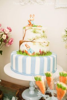 Peter Rabbit cake - Cake by Cláudia Oliveira