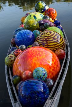 The Float Boat: Chihuly at Fairchild Tropical Botanic Gardens, Miami, FL