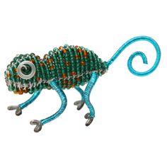 Fathers Day Gift Idea - Beaded Beadworx Minimal, Chameleon| Grass Roots Creations