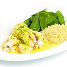 Lekker recept gevonden: Zeewolf in saffraansaus met couscous en peultjes Risotto, Cabbage, Vegetables, Ethnic Recipes, Food, Salads, Essen, Cabbages, Vegetable Recipes