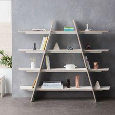 01 Shelf - no screws, nails or glue - by Woodhound #MONOQI