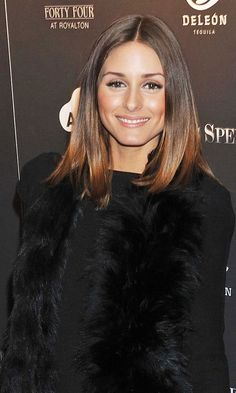 Fashion icon Olivia Palermo's glossy colour blends beautifully with a rich chocolate to copper hue.  For colour like this please come in and see Joshua 01926 831478 #leamingtonhairdressers