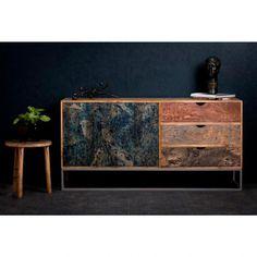Komoda z drewna mangowego Santiago Pons Dour Vanity, Cabinet, Retro, Storage, Projects, Furniture, Design, Decor Ideas, Home Decor