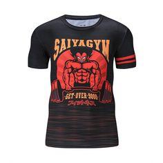 Dragon Ball Z Vegeta's Gym Compression T-Shirt – Otakupicks