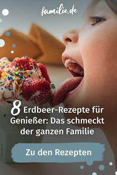 Von Mai bis Juli ist Hochsaison für Erdbeeren. Zugegeben, Erdbeeren schmecken einfach immer, aber diese Rezepte müsst ihr probieren. Schnell und einfach, oder extravagant und raffiniert: Diese Erdbeer-Rezepte bringen euch Bonuspunkte bei der ganzen Familie ein. #erdbeeren #erdbeerrezepte #dessert #nachtisch #yummy #naschen #kind #kleinkind #rezepte #familie #familienleben #diy #selbermachen #lebenmitkindern #vereintimchaos #familienzeit