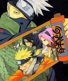 #Naruto #Sasuke #Sakura #Team7