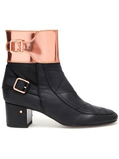 LAURENCE DACADE buckled leather ankle boots
