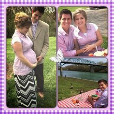 """Erin is 31 weeks pregnant. She and her husband, Chad Paine, are looking forward to meeting their son, Charles """"Carson"""" Stephen Paine IV"""