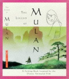 The Legend of Mulan: A Folding Book of the Ancient Poem That Inspired the Disney Animated Film @ niftywarehouse.com