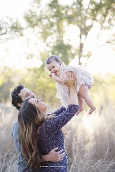 Sweet #Family Of Three Photo Session By Lauren Ristow Photography/Fawn Over #Baby