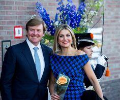 Koning Willem-Alexander maakte vandaag een romantisch gebaar in Dordrecht.