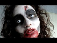 easy thriller makeup - Google Search