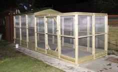 Run Extension for Large Chicken / Rabbit House and Run | Wells Poultry Blog