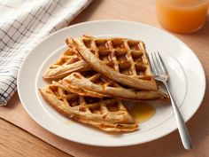Whole-Grain Waffles Recipe : Food Network Kitchen : Food Network - FoodNetwork.com