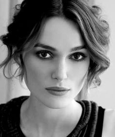 Keira Knightley -- after she finally finished making faces for the camera, she got to be a good actress