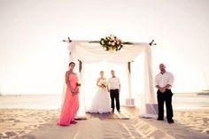 We LOVE the barefoot on the beach wedding held in Aruba. See More Great American Weddings>> http://my.gactv.com/great-american-weddings/multigallery.esi