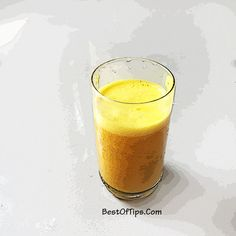 Turmeric has been used in Indian Ayurvedic and Chinese medicine for centuries because of its superior health promoting properties. With inflammation at the root of so many illnesses such as arthritis, it's important to include [. Green Smoothie Recipes, Fruit Smoothies, Healthy Smoothies, Healthy Drinks, Eating Healthy, Healthy Food, Healthy Living, Healthy Recipes, Turmeric Smoothie