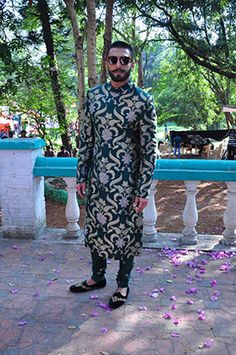 15 Latest Wedding Sherwani Trends for the Grooms That'll Make Them Shine