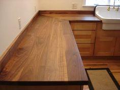Solid Wood Countertops - Wide Plank and Butcher Block Tops! - SpragueWoodworking.com