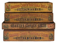 Seed Boxes $5,400