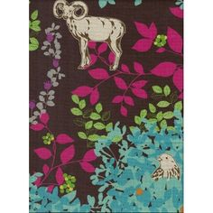 Forest Floral Fabric