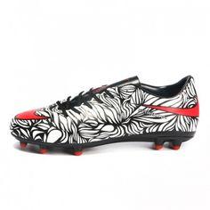 Tacos De Futbol Nike Hypervenom Phatal II Neymar FG Negras Blancas 6ccd865640cf9
