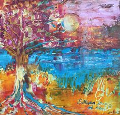 "I added ""Deeply Rooted"" to an #inlinkz linkup!Jayneal-drawinginhispresence.blogspot.com Love Painting, Roots, In This Moment, Fine Art, Visual Arts"