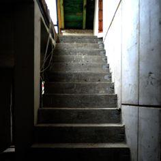 budowa, stan surowy, wylewane schody, beton, Fuel