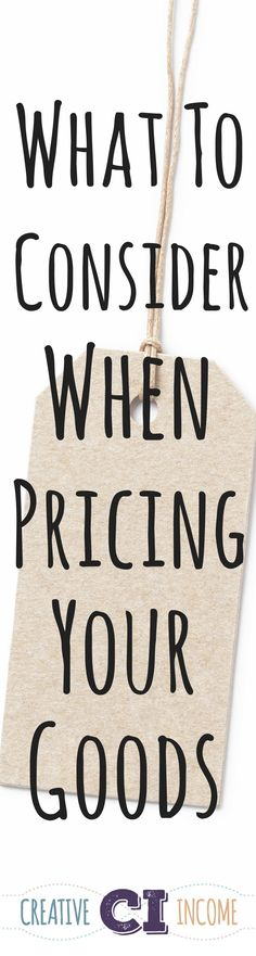 A guide to help you price your goods on Etsy and beyond! Link here: http://www.creativeincomeblog.com/?p=3929