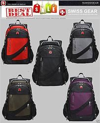 Unisex Swissgear Backpack School Laptop Bag Travel