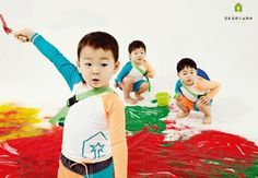 Skärbarn, a children's outdoor clothing brand, revealed more photos of the pictorial with actor Song Il Gook's triplets. The photos capture moments of Dae Han, Min Gook, and Man Se doing various activities and having fun. In some of the photos, the triplets each have a cute hat on, and a...