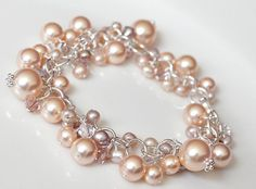Soft, subtle and feminine is how I would describe the feeling I get when I see this gorgeous bracelet.