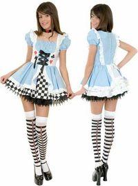 teen alice costume #AliceInWonderlandCostume  #DisneyCostume #Halloween2014 #HalloweenCostume