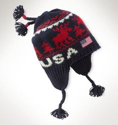Team USA Ceremony Reindeer Hat for 2014 Olympics