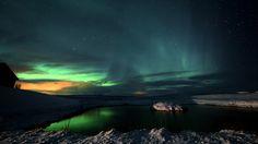Auroras boreales desde Islandia / De Eluniversohoy.com Northern Lights, Fire, Sky, Nature, Travel, Iceland, Universe, Heaven, Naturaleza