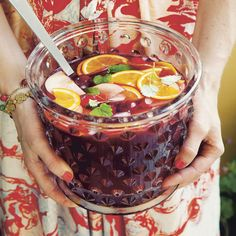 Our Super Delicious Sangria / Party Cookbook by Ebba von Sydow and Amy von Sydow / Svenskt Tenn by Josef Frank / Estrid Ericsson Sangria Party, Ice Cream Smoothie, Snack Recipes, Snacks, Summer Drinks, Summer Bbq, Wine Drinks, Food Design, Food Inspiration