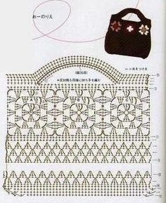 Free Crochet Bag Patterns Part 25 - Beautiful Crochet Patterns and Knitting Patterns - Beutel und Netze - Beau Crochet, Free Crochet Bag, Crochet Tote, Crochet Handbags, Crochet Purses, Crochet Stitches, Crochet Hooks, Knit Crochet, Crochet Bag Tutorials